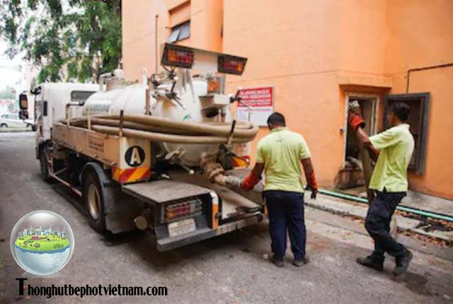 Các dịch vụ của Công ty thông hút bể phốt Việt Nam tại Tiền Giang