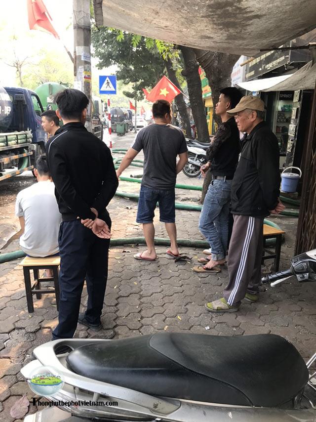 dịch vụ hút bể phốt Sóc Sơn uy tín