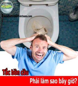 6 Cách thông tắc bồn cầu toilet đơn giản [Ai cũng làm được]