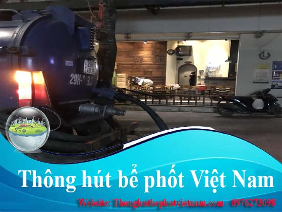 4.  Dịch vụ thông hút bể phốt tại Công Ty Vệ Sinh Môi Trường Thông Hút Bể Phốt Việt Nam: