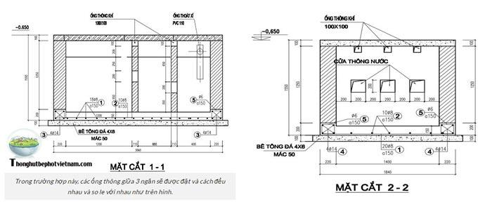 Hướng dẫn cách lắp đặt ống trong bể phốt như thế nào ?