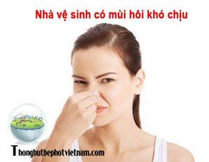 Bí quyết khử mùi hôi nhà vệ sinh tại nhà đơn giản, hiệu quả