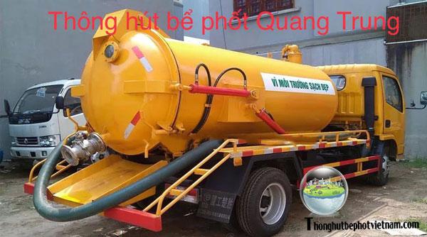 Thông hút bể phốt tại Quang Trung uy tín, giá rẻ, chất lượng cao.