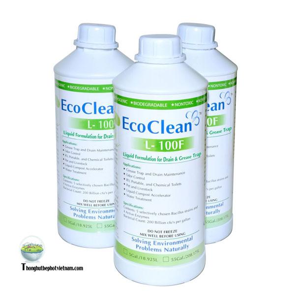 Nước thông tắc EcoCleanTM L-100F.