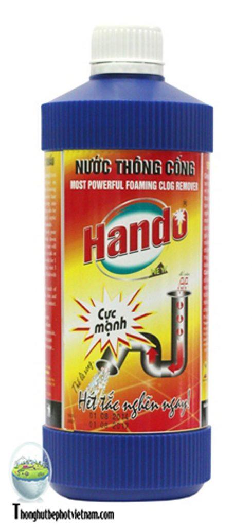 Nước thông tắc HanDo.